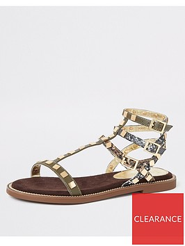 river-island-river-island-stud-gladiator-sandals-khaki