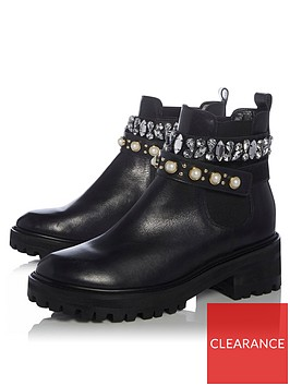 dune-london-playful-embellished-strap-chunky-chelsea-boots-black