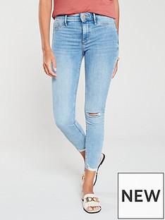 d20cf105ee360 River Island River Island Molly Luna Skinny Jeans - Light Blue