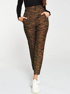 v-by-very-tiger-printed-trouser-rust
