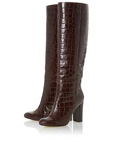 dune-london-simonne-high-heel-high-leg-boots-brown