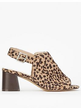 evans-extra-wide-fit-high-front-sandals-animal-print