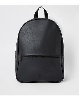 river-island-black-ri-backpack