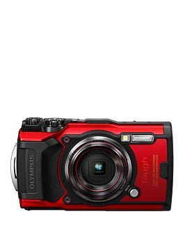 Olympus Olympus Tg-6 Tough Camera Red 12Mp 4Xzoom 3.0Lcd Fhd Wtprf 15M