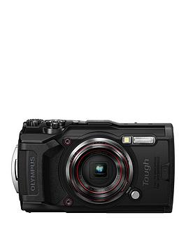 Olympus Olympus Tg-6 Tough Camera - Black, 12Mp, 4Xzoom, 3 Inch Lcd Fhd, Waterproof 15M