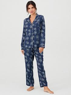 pour-moi-lazy-days-pyjama-set-navywhitenbsp