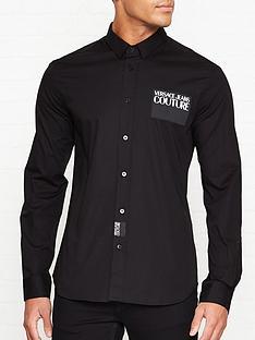 versace-jeans-couture-logo-patch-slim-fit-shirt-black