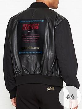 versace-jeans-couture-nylon-sleeves-leather-bomber-jacket--nbspblack