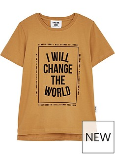sometime-soon-boys-rise-box-logo-short-sleeve-t-shirt-mustard