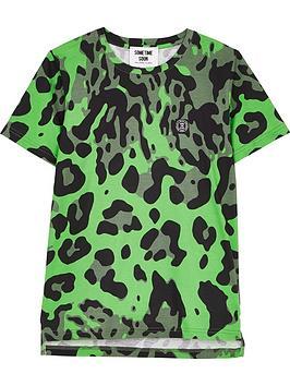 sometime-soon-boys-magnet-leopard-short-sleeve-t-shirt-green