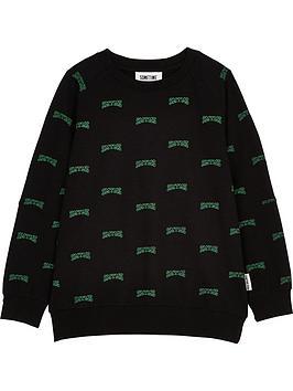 sometime-soon-boys-campus-logo-crew-neck-sweatshirt-black