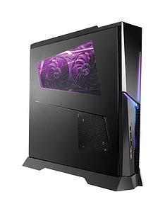 MSI Trident X Plus Intel Core i7-9700K, 16GB RAM, 1TB Hard Drive, 256GB SSD, RTX 2070 Armor 8GB Graphics, Gaming PC - Black