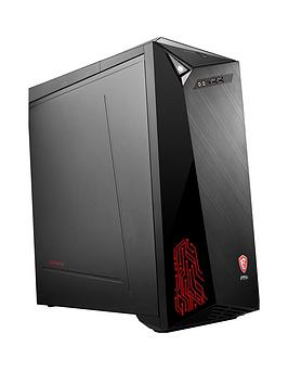 Msi Infinite Intel Core I5-9400F, 8Gb Ram, 1Tb Hard Drive, 128Gb Ssd, Rtx 2060 Aero Itx 6Gb Graphics, Gaming Pc - Black