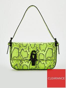 steve-madden-bhaute-snake-print-shoulder-bag-neon-yellow