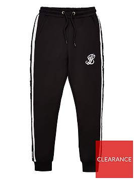 illusive-london-boys-taped-jog-pants-black