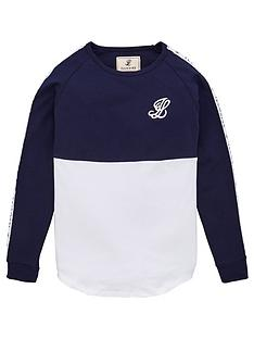 illusive-london-boys-taped-long-sleeve-t-shirt-navy