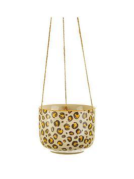 sass-belle-leopard-love-hanging-planter