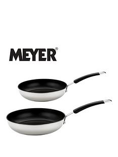 meyer-set-of-2-aluminium-frying-pans-white