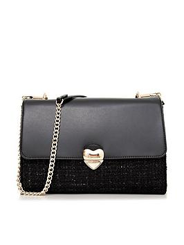 valentino-by-mario-valentino-guitar-heart-tweed-shoulder-bag-black