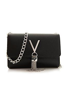 valentino-by-mario-valentino-divina-tassel-fold-over-cross-body-bag-black