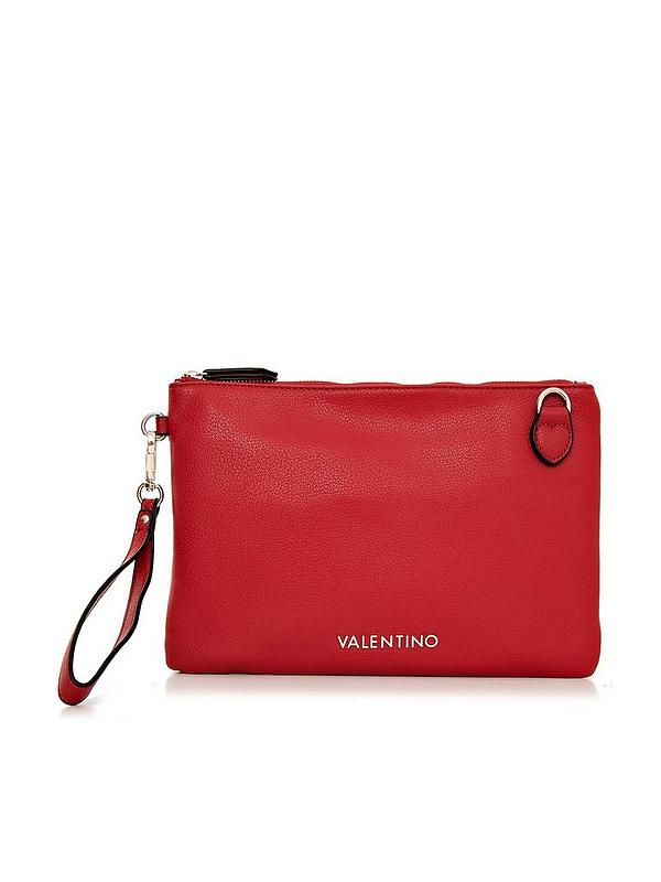 great variety styles best place detailing Flauto Clutch Bag - Red