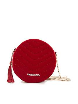 valentino-by-mario-valentino-carillon-velvet-circle-body-red