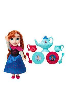disney-frozen-toddler-anna-doll-amp-tea-set-gift-set