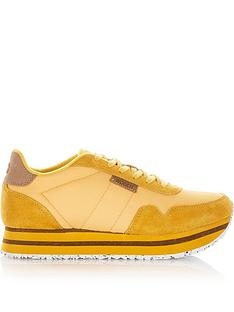 woden-nora-11-plateau-trainers-yellow