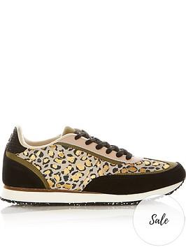 woden-agnes-leopard-print-trainers-multi
