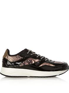 woden-sophie-snake-print-trainers-brown
