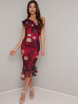 chi-chi-london-jannie-one-shoulder-floral-dress-burgundy