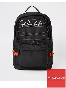 river-island-black-prolific-hiking-backpack