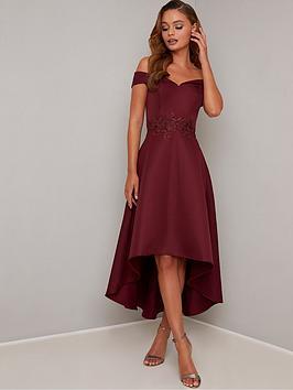 chi-chi-london-simera-bardot-high-low-dress-burgundy