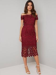 chi-chi-london-anna-lace-bardot-midi-dress-burgundy