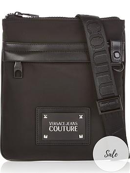 versace-jeans-couture-mens-logo-nylon-cross-body-bag-black