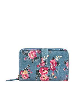 cath-kidston-kingswood-rose-folded-zip-wallet-teal