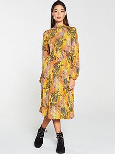 v-by-very-animal-print-high-neck-jersey-dress-multi
