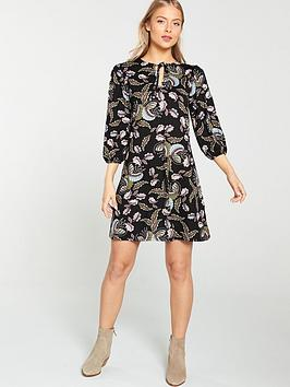 v-by-very-paisley-tunic-dress-multi