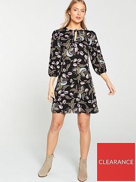 v-by-very-paisley-tunic-dress-multi