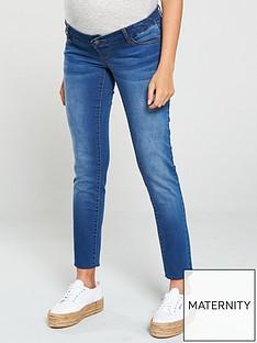 mama-licious-maternity-over-the-bump-slim-jean-medium-blue