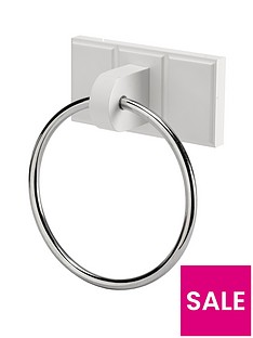 croydex-portland-towel-ring