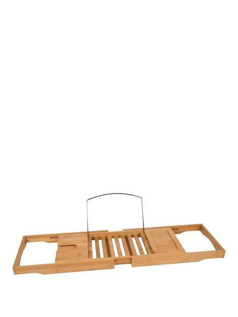 croydex-adjustable-bamboo-bath-bench