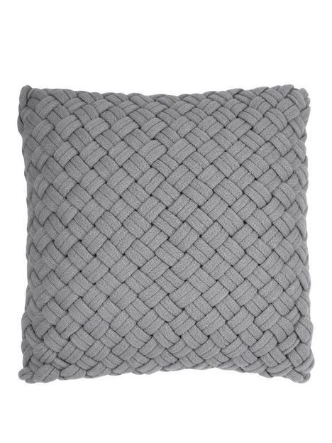 dkny-chunky-knit-cushion-in-grey