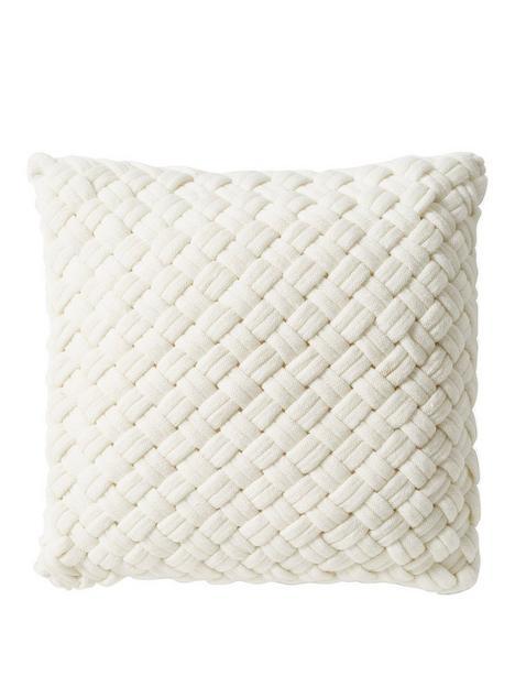 dkny-chunky-knit-cushion-in-white