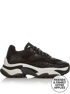 ash-addict-chunky-trainers-black