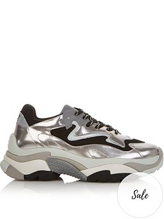 ash-addict-chunky-trainers-silver