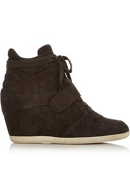 ash-bowie-suede-wedge-trainersnbsp-nbspbrown