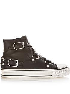 ash-vanessa-buckle-plimsolls-black