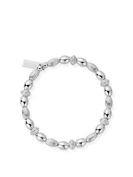 chlobo-sterling-silver-mini-oval-disc-bracelet