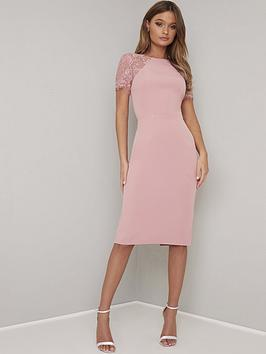 chi-chi-london-shannon-dress-pink